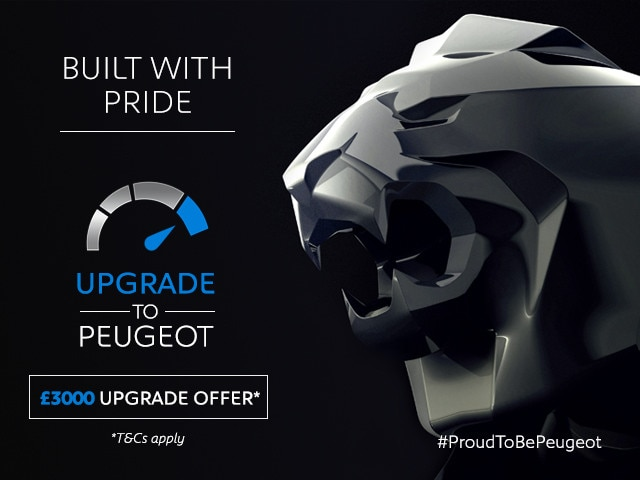 Peugeot Upgrade - Upgrade to a Peugeot Car today