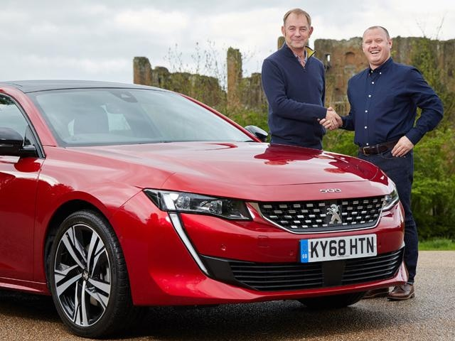 Peugeot celebrates 25 years suppplying Pointer Company