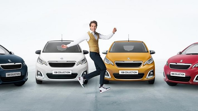 Peugeot 108 Collection range