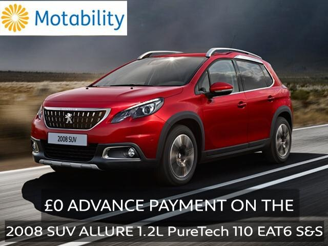 Motability Homepage 2008 SUV Allure Offer