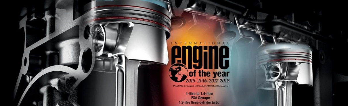 Peugeot Latest Technology - Engine of the year award 2015, 2016, 2017 and 2018