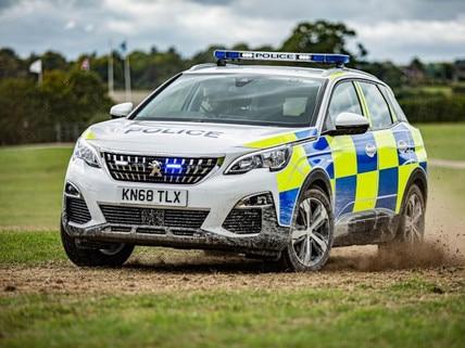 PEUGEOT-Police-Car