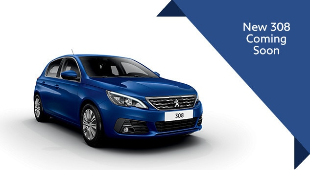 New 308 automatic Q3 Motability Offer