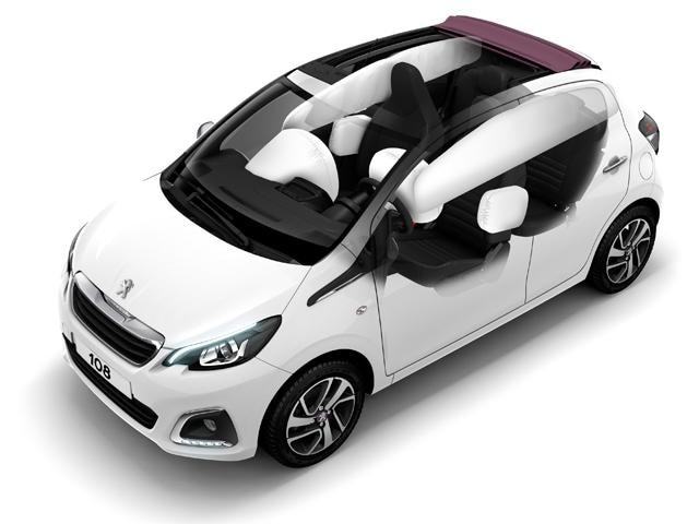 Peugeot 108 airbags