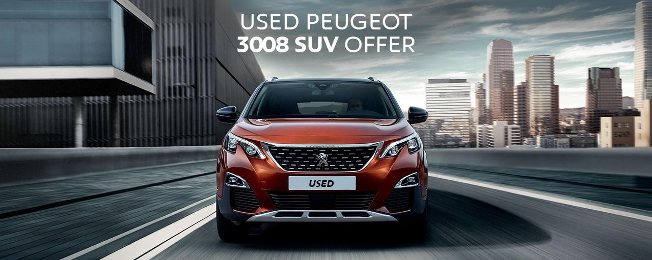 Peugeot 3008 SUV used car