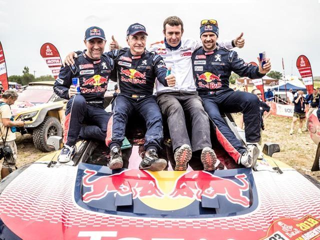 Peugeot DAKAR 2018 Win