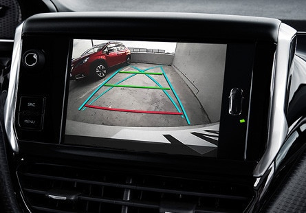 Peugeot 2008 SUV Colour reversing camera