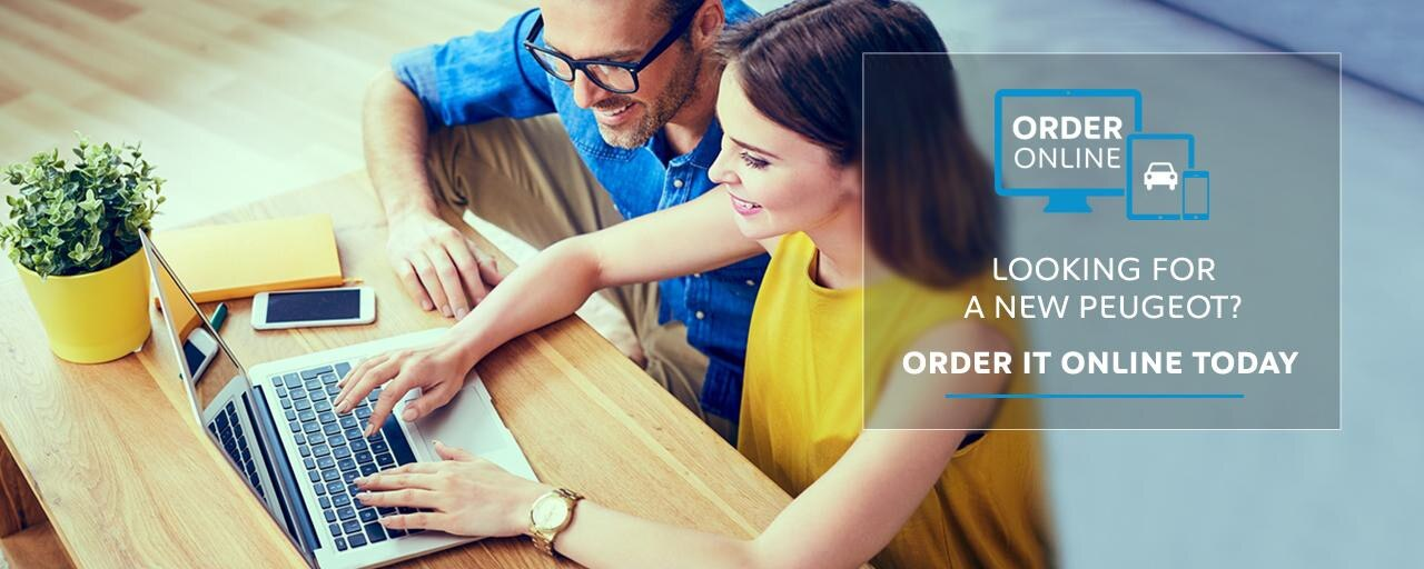 Order online by Peugeot