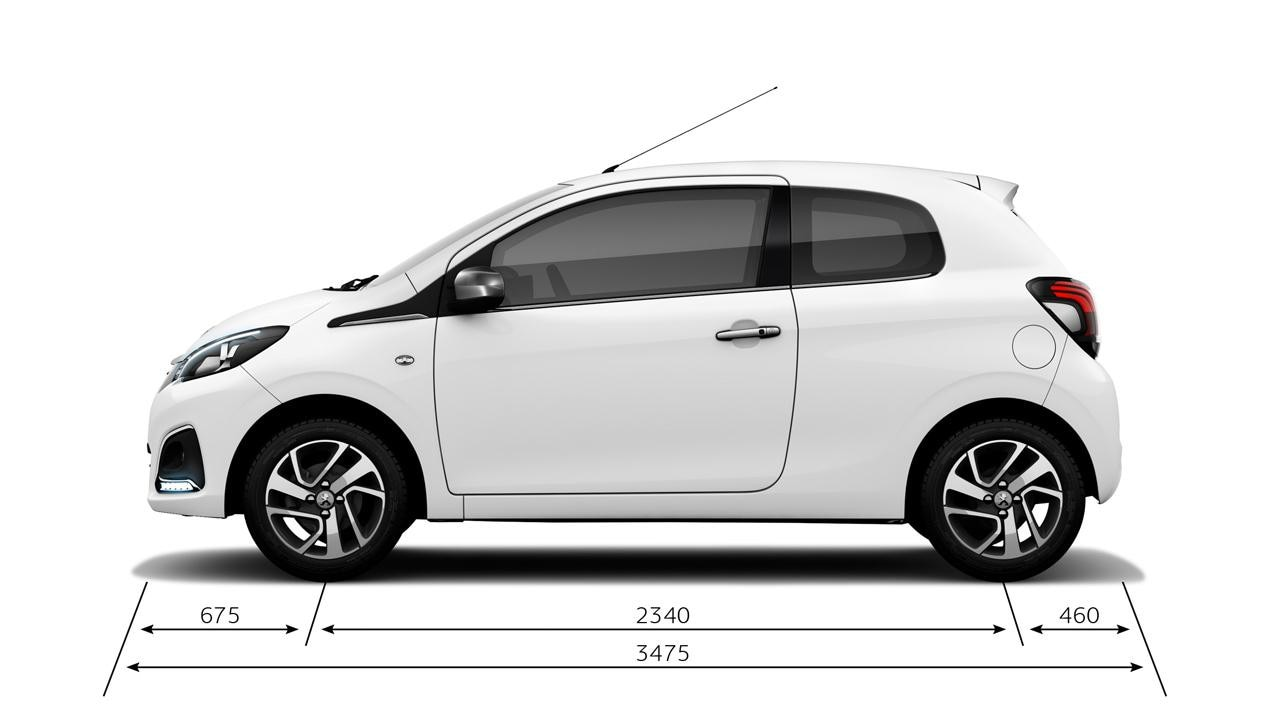 Peugeot 108 Hatchback Safety Amp Tech Info