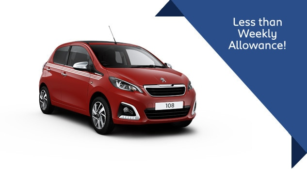 Peugeot 108 Collection Motability offer