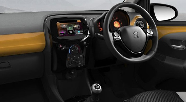 Peugeot 108 Collection interior