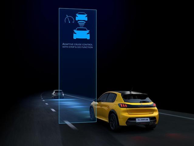 All-new 208 semi-self driving