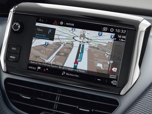 Peugeot 2008 SUV Connected Navigation