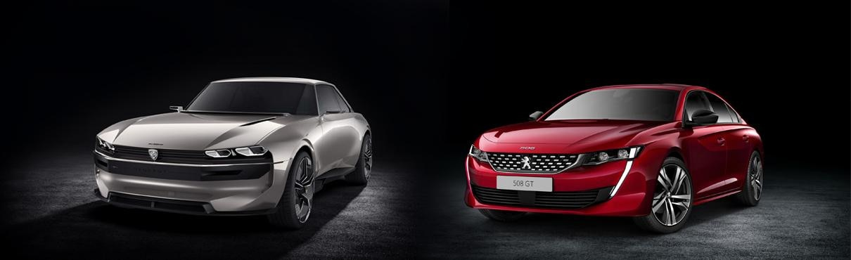 All-new 508 and E-legend concept