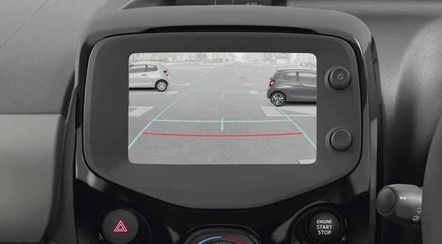 Peugeot 108 Collection reverse camera