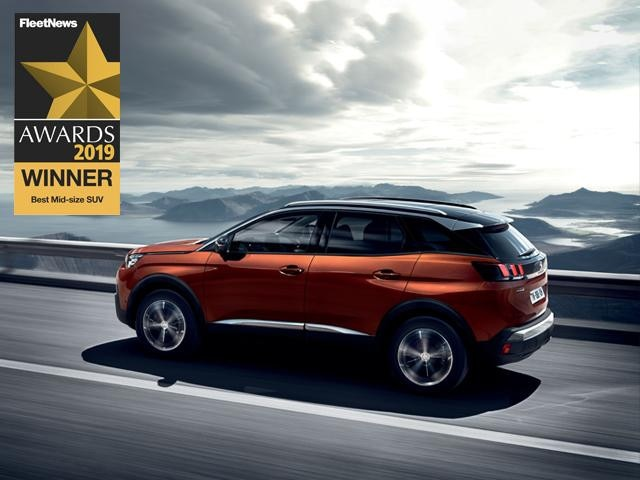 3008 SUV - Fleet Award