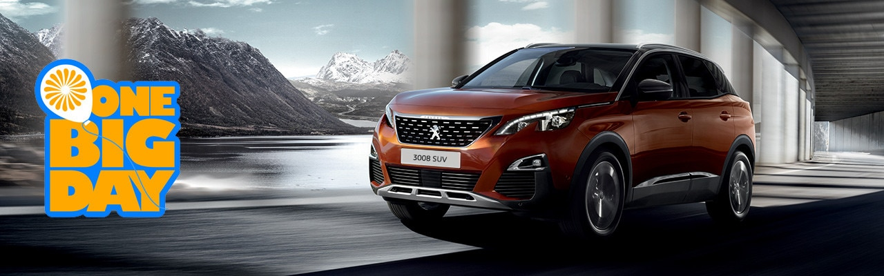 motability upcoming events 3008 SUV