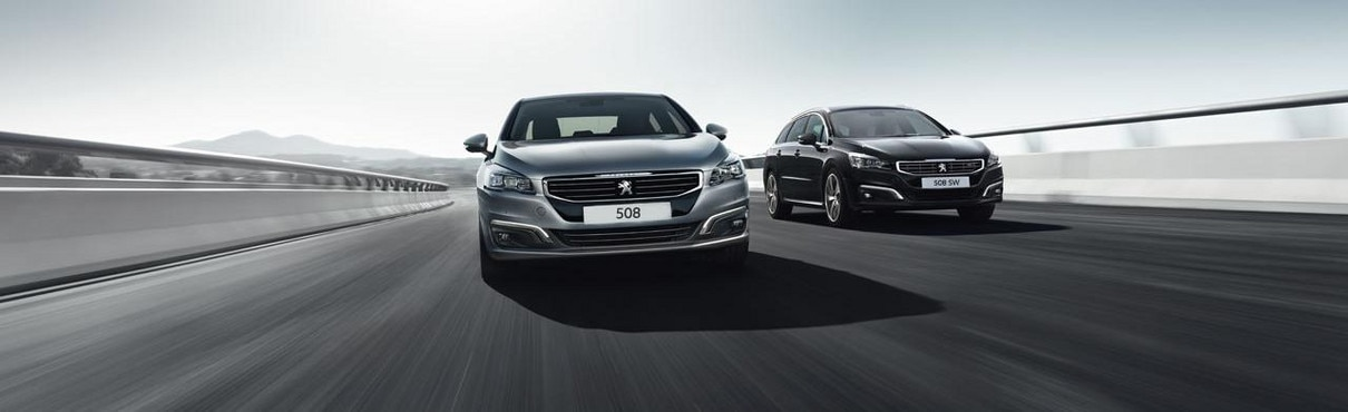 Peugeot 508 and Peugeot 508 SW