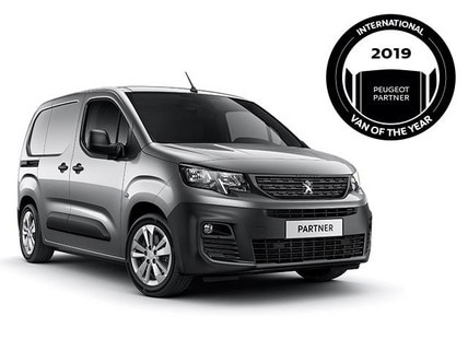 All-new Peugeot Partner - Van of the year 2019