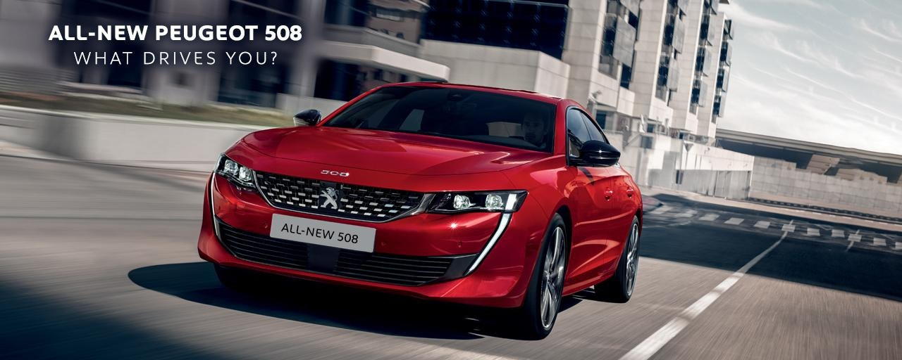ALL-NEW PEUGEOT 508 FASTBACK