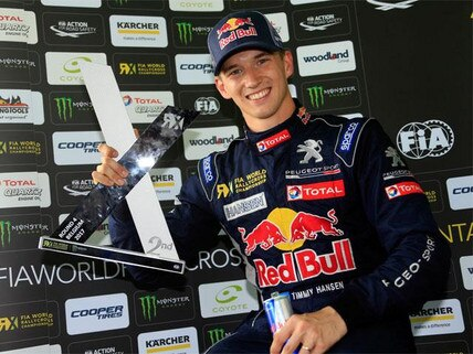 Timmy Hansen with Peugeot 208 WRX
