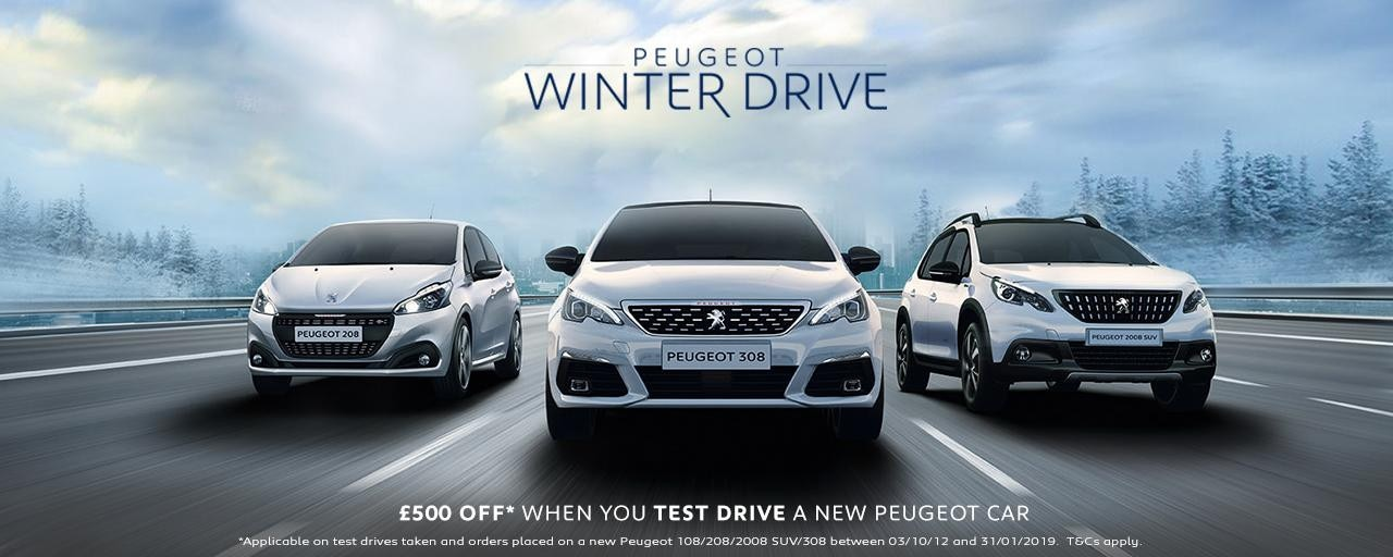 Peugeot Winter 2019 Range Offer