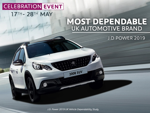 Celebration Offers - Peugeot 2008 SUV
