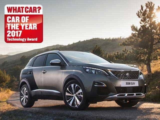 new 3008 suv what car award