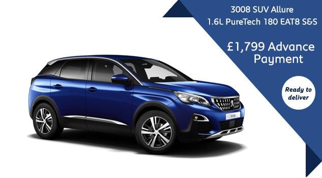 3008 SUV Allure - Motability offer