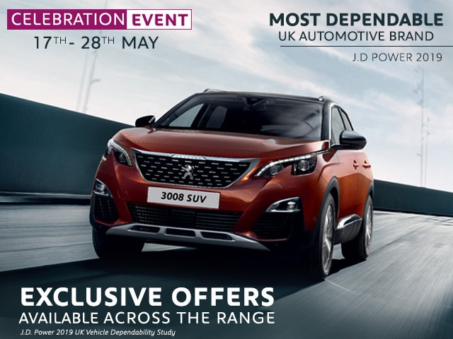 Celebration Offers - Peugeot 3008 SUV
