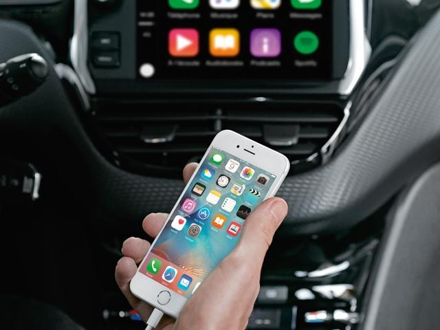 Peugeot Apple Carplay