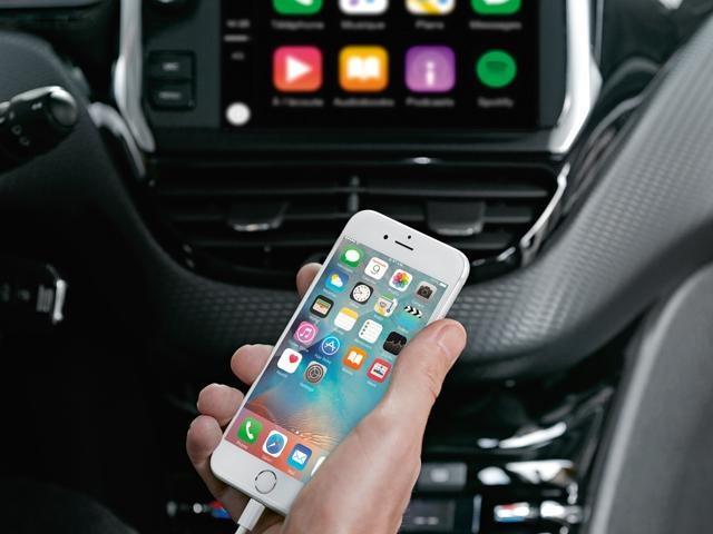 Peugeot Apple Carplay
