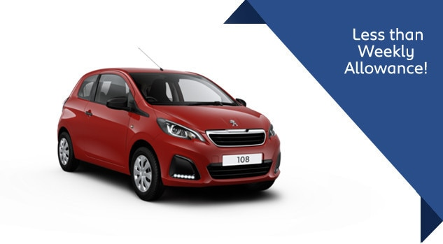 Peugeot 108 Access Motability Offer