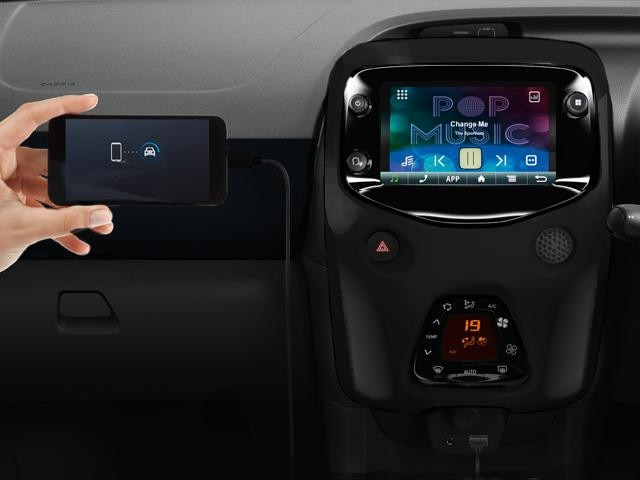 Peugeot 108 Collection Interior Technology