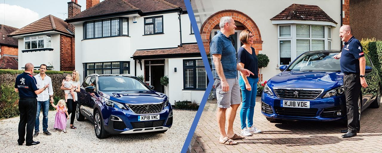 Experience a Peugeot at home