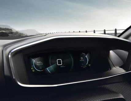 ALL-NEW PEUGEOT 208 ELECTRIC – 3D Digital instrument panel