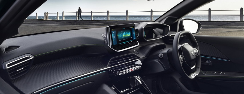 ALL-NEW PEUGEOT 208 ELECTRIC – New PEUGEOT 3D i-cockpit®