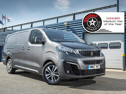 Peugeot Expert 2018 van of the year