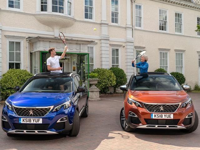 3008 SUV for Jamie and Judy Murray