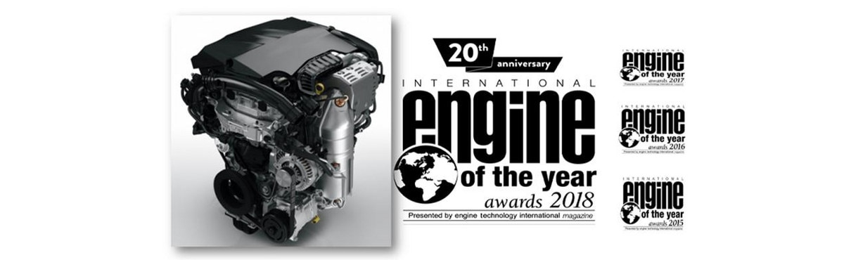 Peugeot Engine of the Year 2018