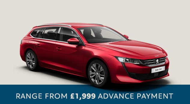 All-new Peugeot 508 SW - Motability
