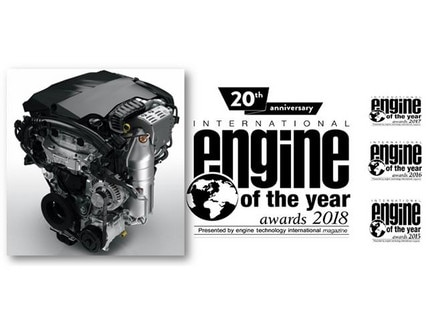 Peugeot wins Engine of the Year 2018