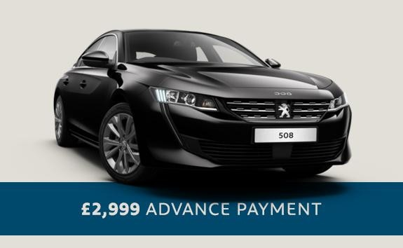 All-new Peugeot 508 Fastback - Motability - Automatic car