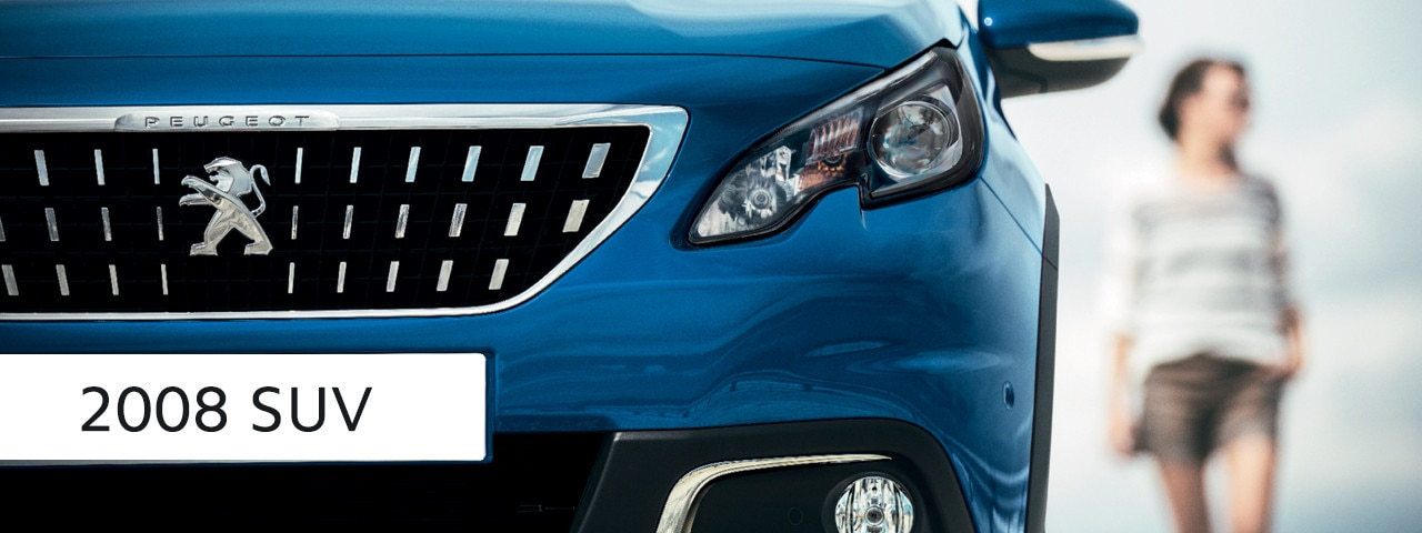 Peugeot 2008 SUV - front lights design