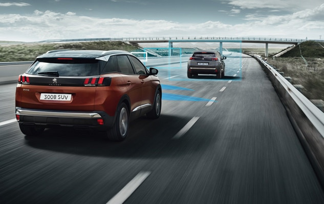 Peugeot 3008 SUV UK attention alert safety