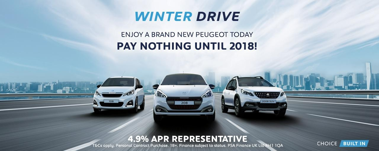 Peugeot Winter Campaing 108, 208, 2008 SUV
