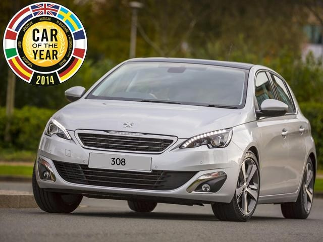 peugeot 308 european car of the year award 2014