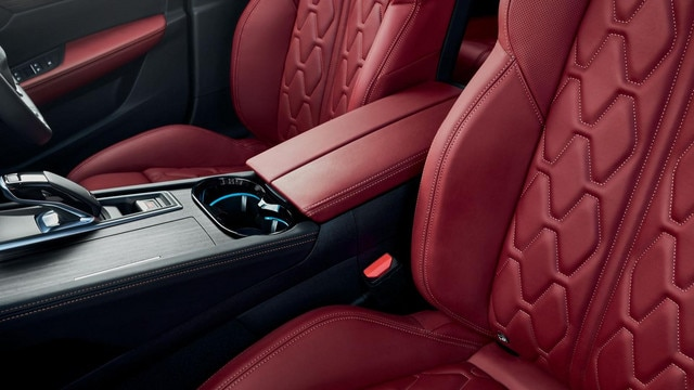 All-new 508 SW interior