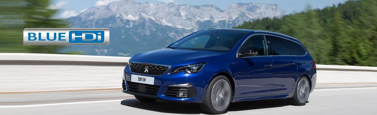 Peugeot 308 SW for BlueHdi