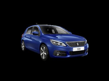 Peugeot 308 Transparent background